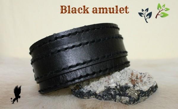 čierny pánsky náramok