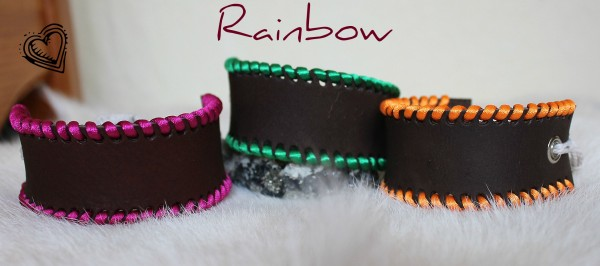 farebné dámske náramky