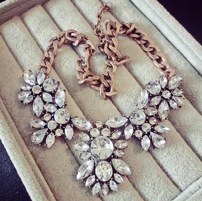 dámsky masívny náhrdelník