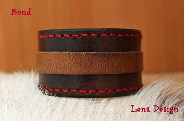 originálny kožený náramok